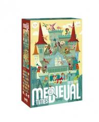 PUZZLE GO TO THE MEDIEVAL TIMES 100P LJ